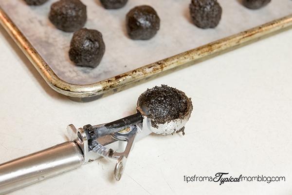 OREO Cookie Balls Snowballs