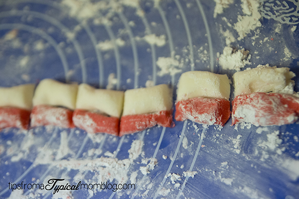 Candy Cane Cream Cheese Mints