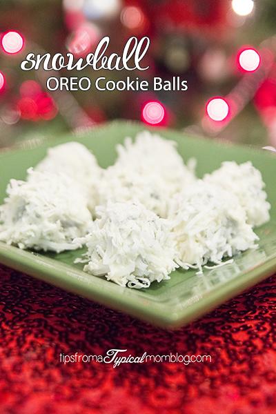Snowball OREO cookie balls