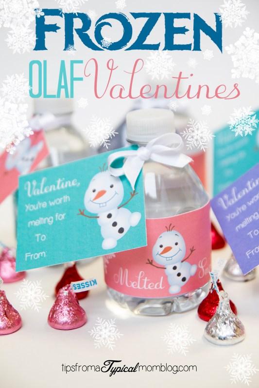 Frozen Olaf Free Printable Valentines
