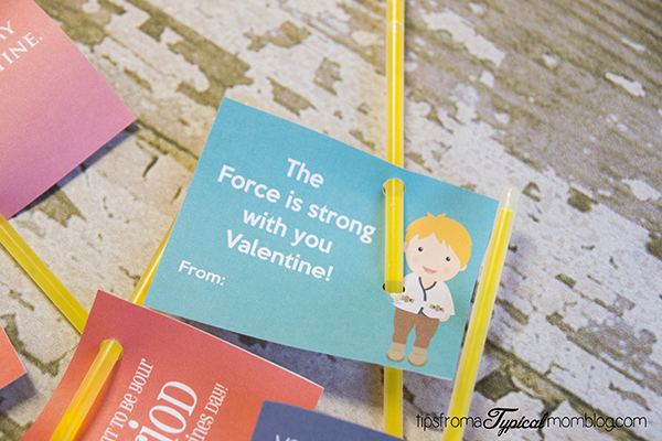 Star Wars Free Printable Valentines