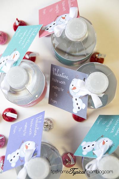 Frozen Olaf Valentines Free Printable