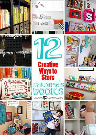 12 Creative Ways to Store Children's Books