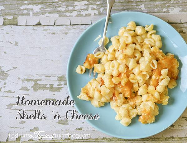 Homemade Shells 'n Cheese