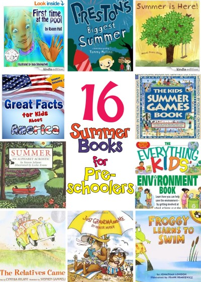 Summer Book List for Preschoolers