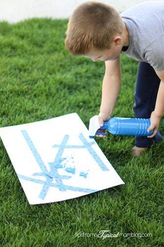 Outdoor Summer Art and Activities for Kids