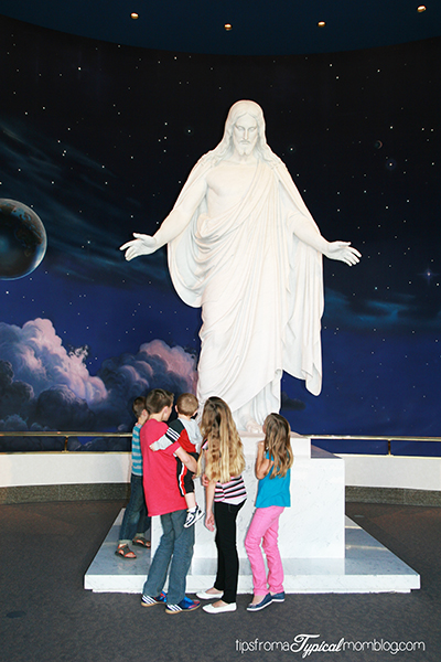 Visiting Temple Square with your Family
