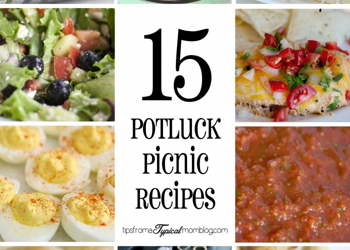 15 Potluck or Picnic Recipes