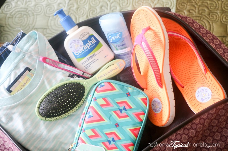 What you need to pack for Girls Camp