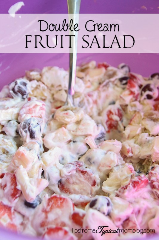 Double Cream Fruit Salad
