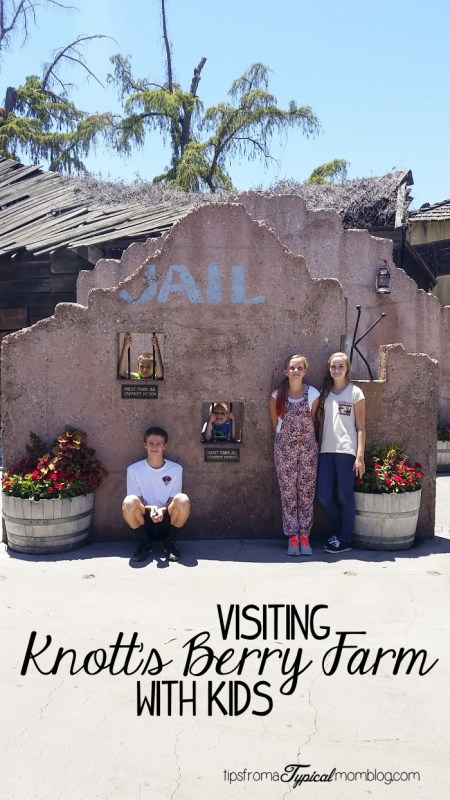 Tips for Visiting Knott's Berry Farm with Kids