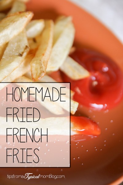 Real Homemade French Fries