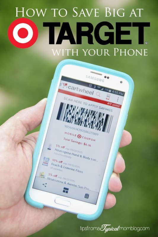 How to Save at Target using your Phone + $100 Target Gift Card Giveaway