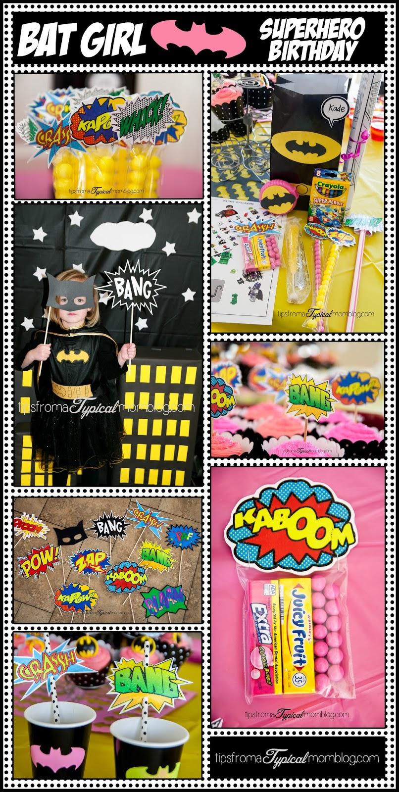 Superhero Girl Birthday Party Ideas And Free Printables