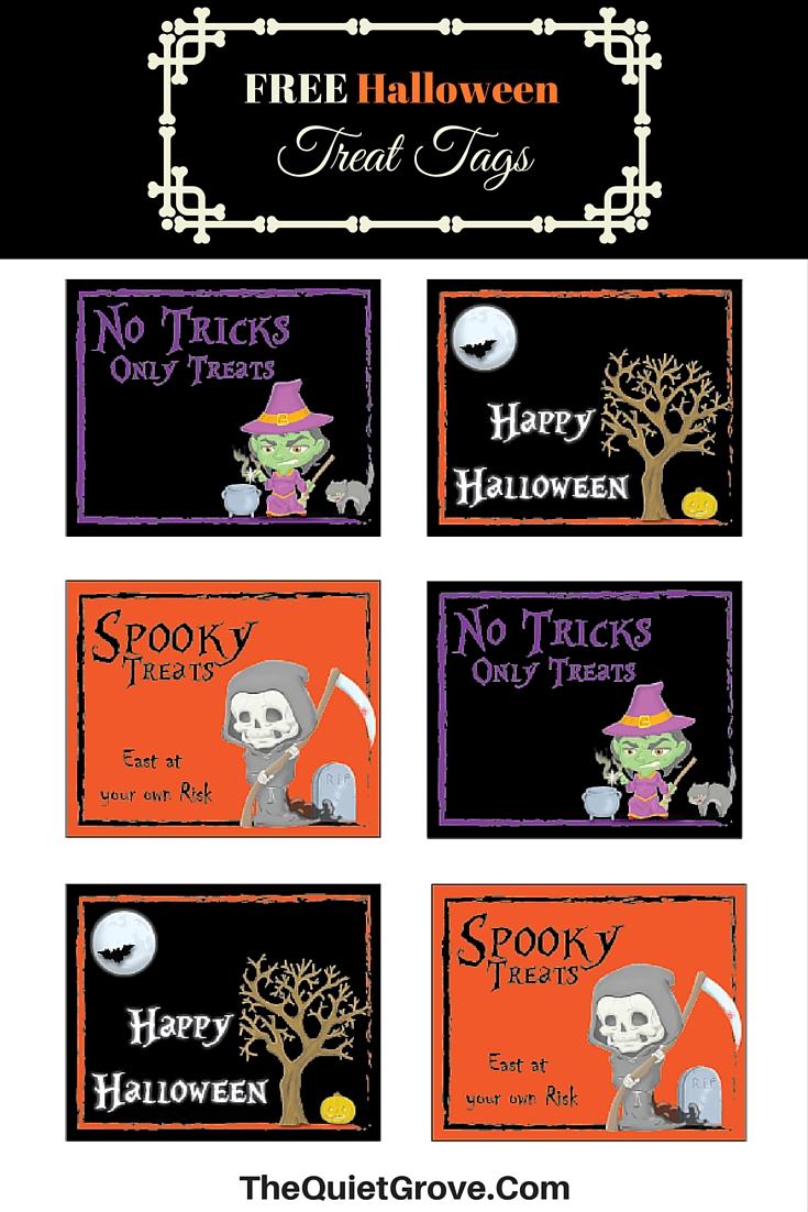 Halloween Treat Printables
