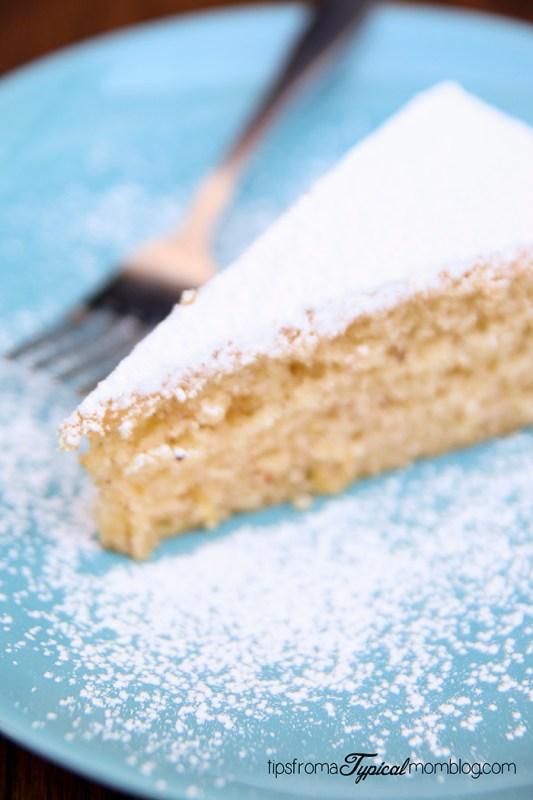 Lemon Ricotta Almond Cake No Flour Gluten Free