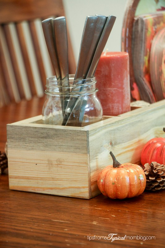 Multi Functional DIY Wood Centerpiece Box