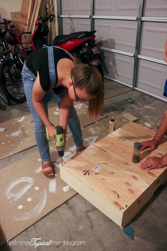 DIY Under Bed Rolling Storage Drawers