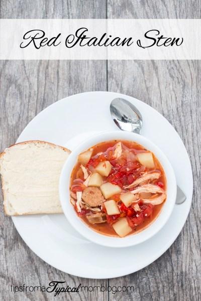 Red Italian Stew Recipe