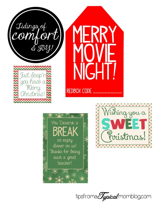 8 Creative and Easy Teacher Gift Ideas with Free Printables