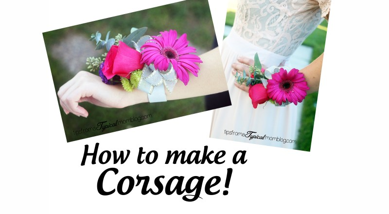 How To Make a Corsage or Boutonniere for School Dances or Mothers Day