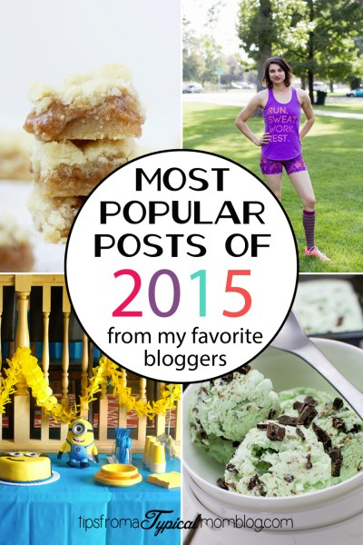 My Favorite Bloggers Most Popular Posts of 2015