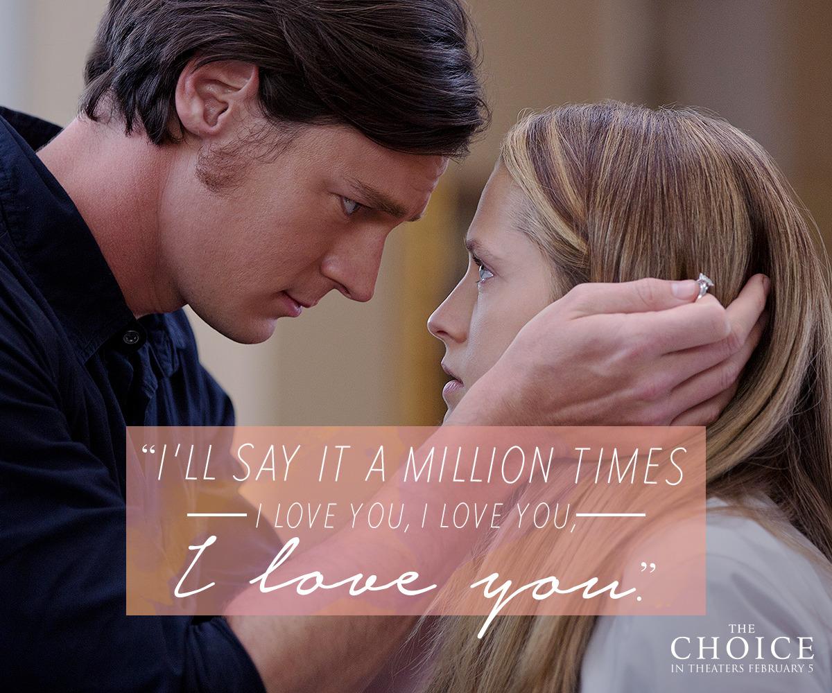 """The Choice"" 2016 Movie"