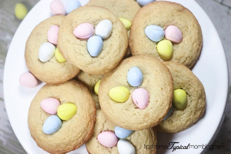 Cadbury Mini Eggs Cookies for Easter