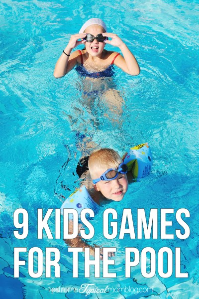 9 Games for Kids to Play in the Pool