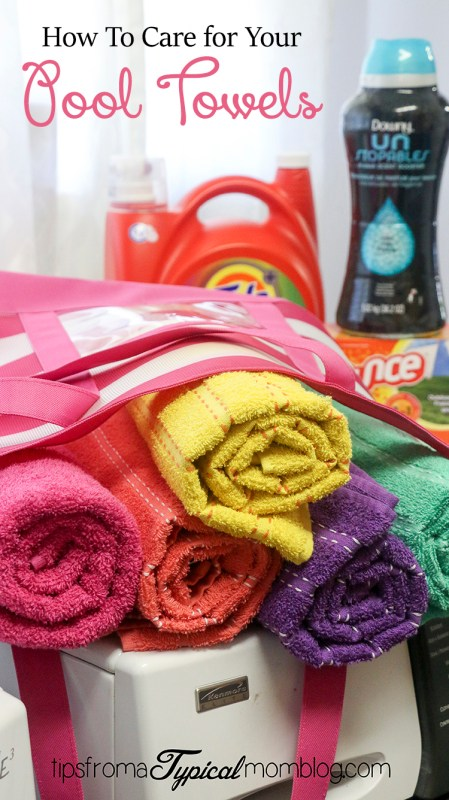 How to Care for Your Family's Pool Towels