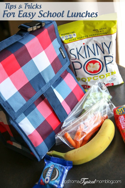 Tips & Tricks for Making School Lunches Easy