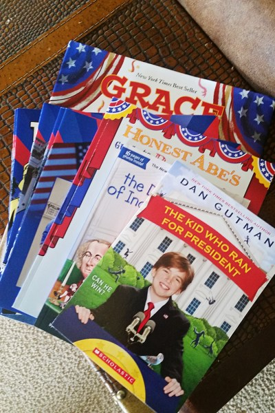 4 Books That Teach Kids About a Presidential Election + Book Pack Giveaway