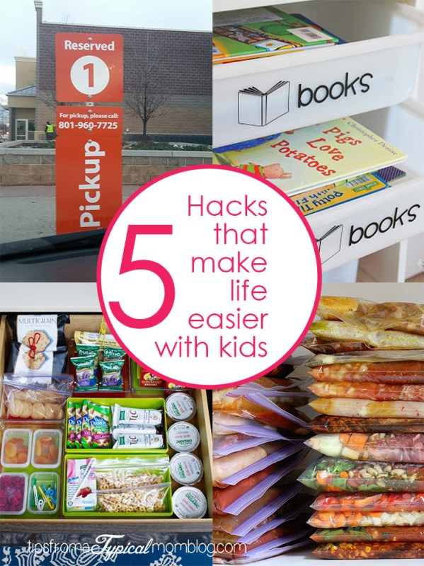 5 Hacks that Make Life Easier with Small Kids + $10 off $50 Grocery Walmart Coupon #GroceryHero