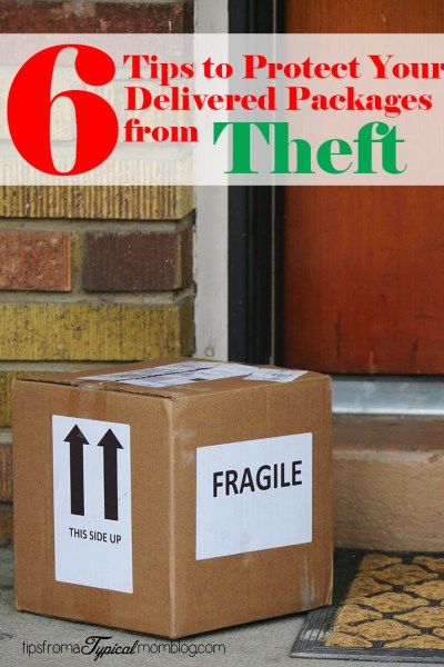 6 Tips to Protect Your Delivered Packages from Theft