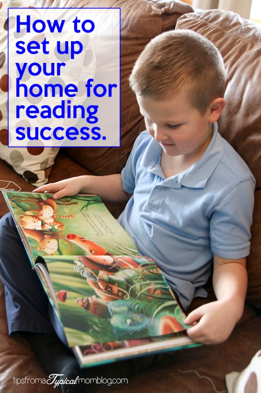 How To Set Up Your Home For Reading Success + Bookroo 20% Off Discount