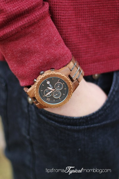 The Gift of Time for my Graduating Son + a JORD Wood Watch Giveaway!