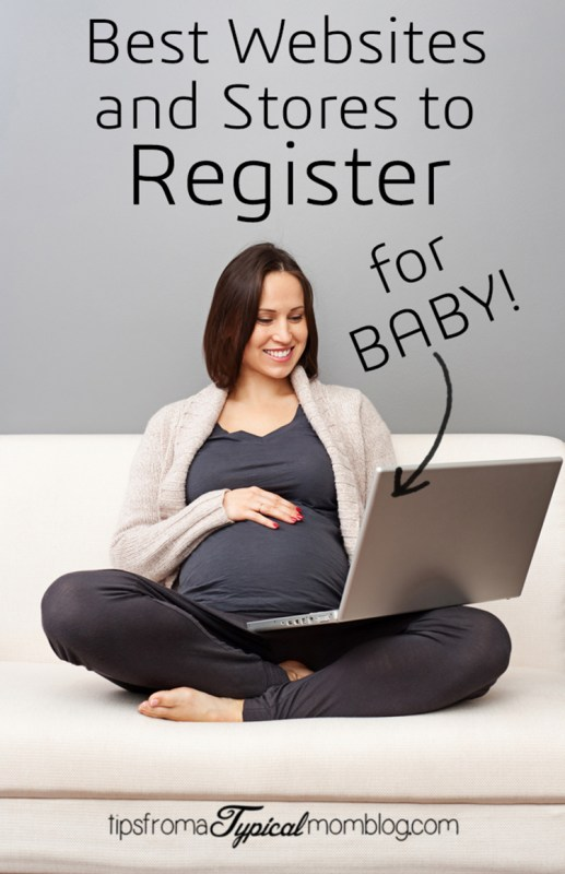 Best websites and stores to register for baby