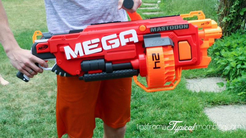 Enjoy a screen free summer with Nerf + Giveaway