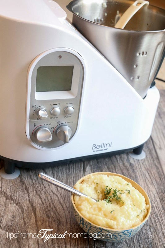 Easy Hands Free Risotto with Bellini