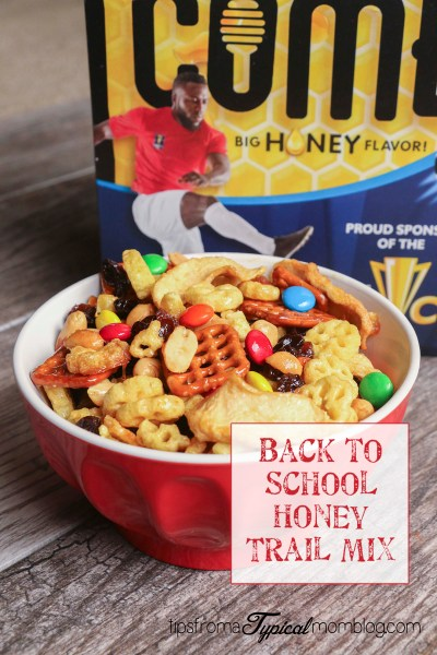 Back to School Honeycomb Apple Trail Mix