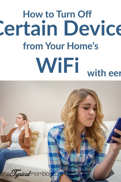 How to Turn Off Certain Devices from Your Home's WiFi and Extend WiFi Signal with Eero