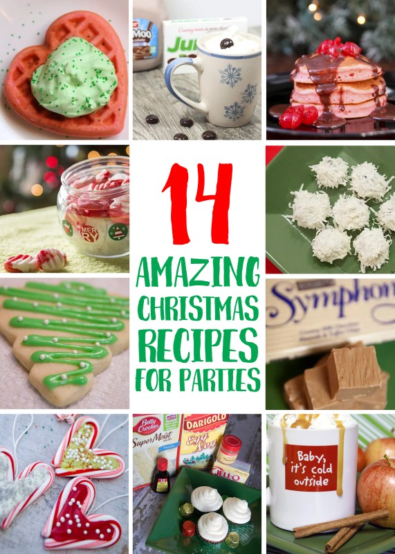 14 Amazing & Sweet Christmas Recipes for Parties or Gifts - Tips ...
