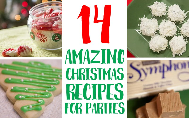 14 Amazing & Sweet Christmas Recipes for Parties or Gifts