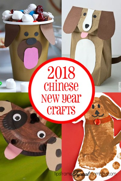 2018 Chinese New Year Crafts and Activities for Kids