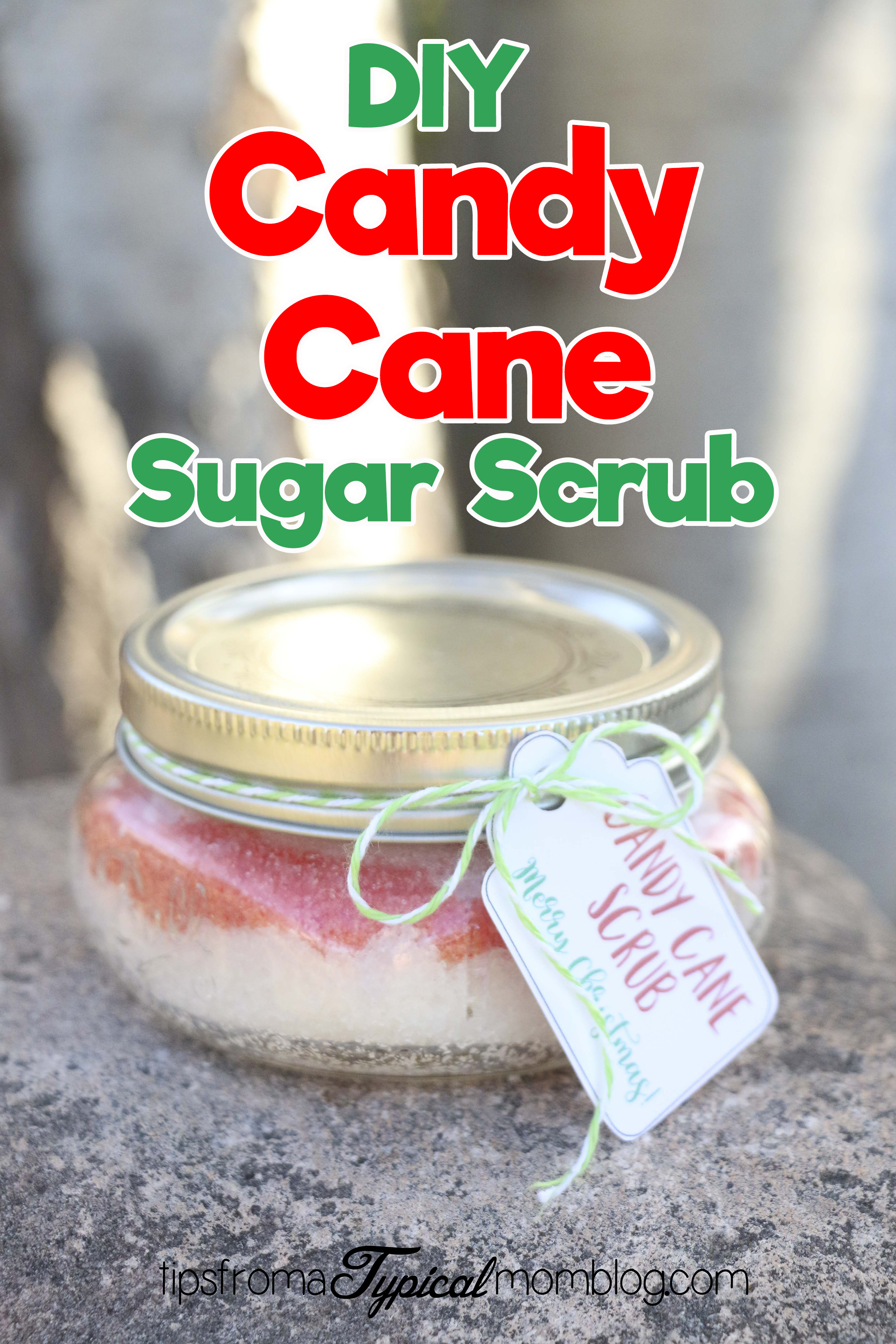 Diy Candy Cane Sugar Scrub Christmas Gift Tips From A Typical Mom