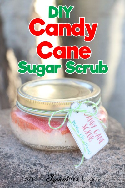DIY Candy Cane Sugar Scrub – Christmas Gift