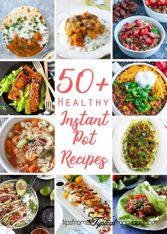 50 Healthy Instant Pot Recipes