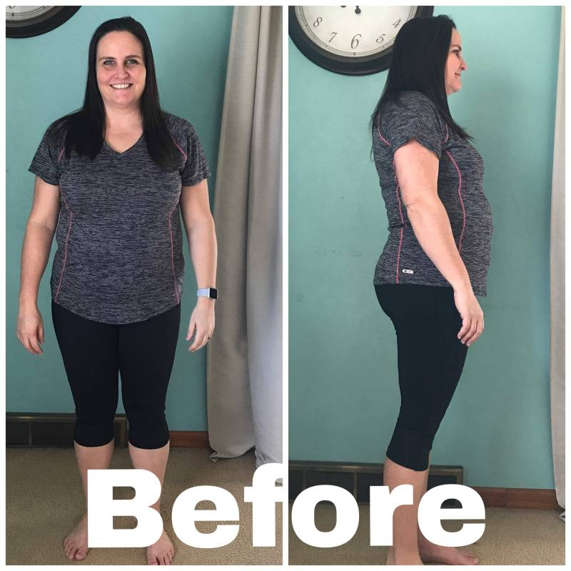Before my weight loss journey with MD Diet