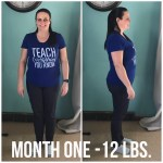 Weight Loss Journey End of Month One