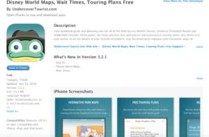 Best Apps for Disney World